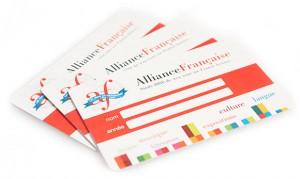 ledenpassen ABS plastic cards