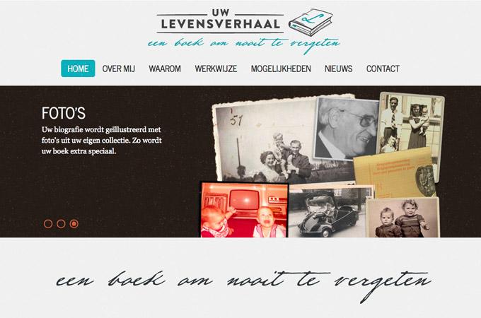 Nieuwe website Uw Levensverhaal
